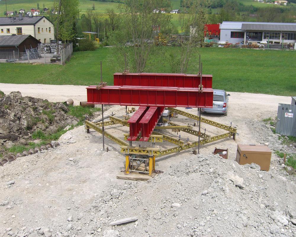 Messequipment Stahltraversen